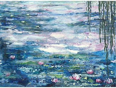 Lily Pond Canvas Art, , large
