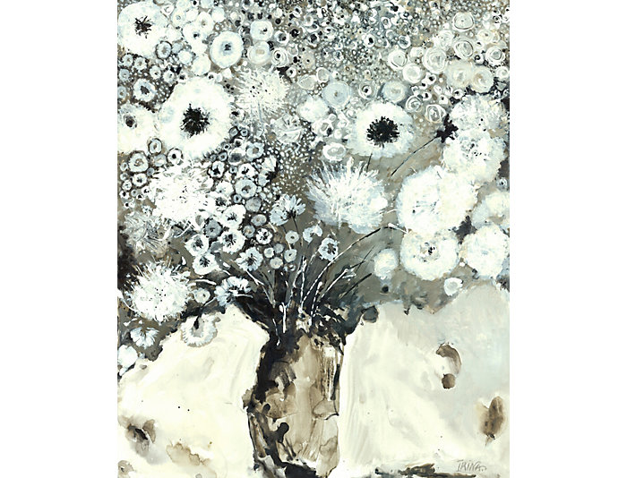 Grey Buds Canvas Art, , large