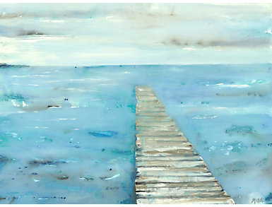 On The Dock Canvas Art, , large