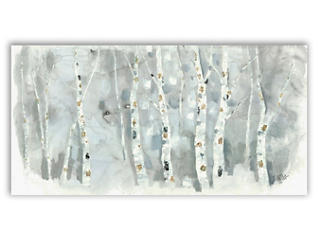 Winter Woods Canvas Art, , large