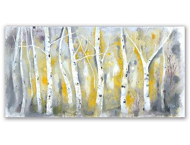 Yellow Woods Canvas Art, , large