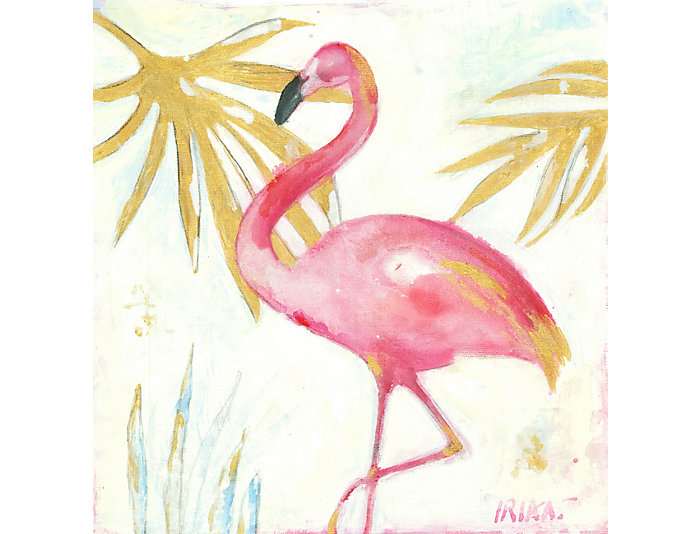 Flamingo II Canvas Art, , large