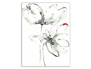 Flower I Sketch Canvas Art, , large