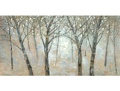 Wooden Forest Canvas Art, , large