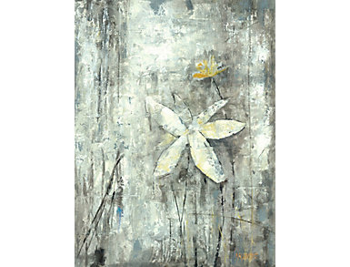 Abstract Flower II Canvas Art, , large