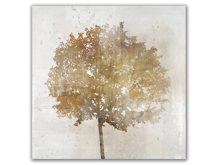 Gold Tree I Canvas Art, , large