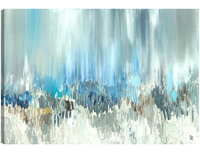 Blue Visuals Canvas Art, , large