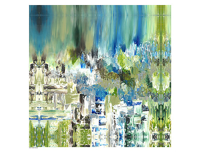 Summery Pond I Abstract Art, , large