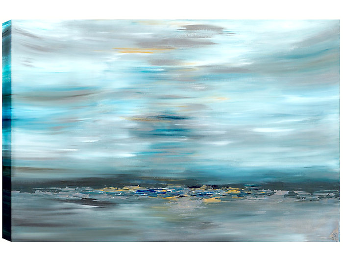 Distant Rocks Abstract Art, , large