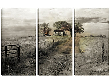 To The Farm Triptych Wall Art, , large
