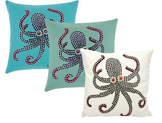 Octopus Pillow Collection, , large