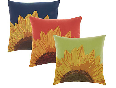 Sunflower Pillow Collection, , large