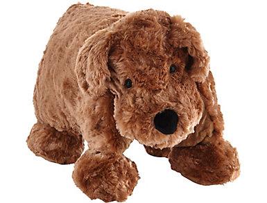 Foldable Dog Plush Animal Pillow, , large