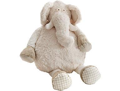Oversized Elephant Plush, , large