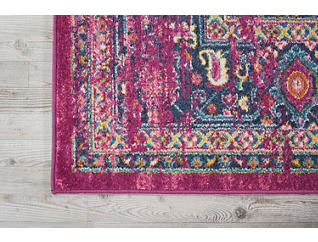 "Passion Fushia 5'3"" x 7'3"" Rug, , large"