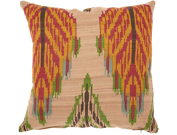 Gracesend Ikat 18x18 Pillow, , large