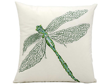 Dragonfly Outdoor Pillow, , large