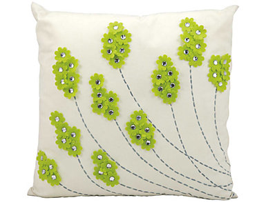 Exeter Flowers Outdoor Pillow, , large