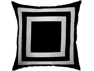 Navy Square Outdoor Pillow, , large