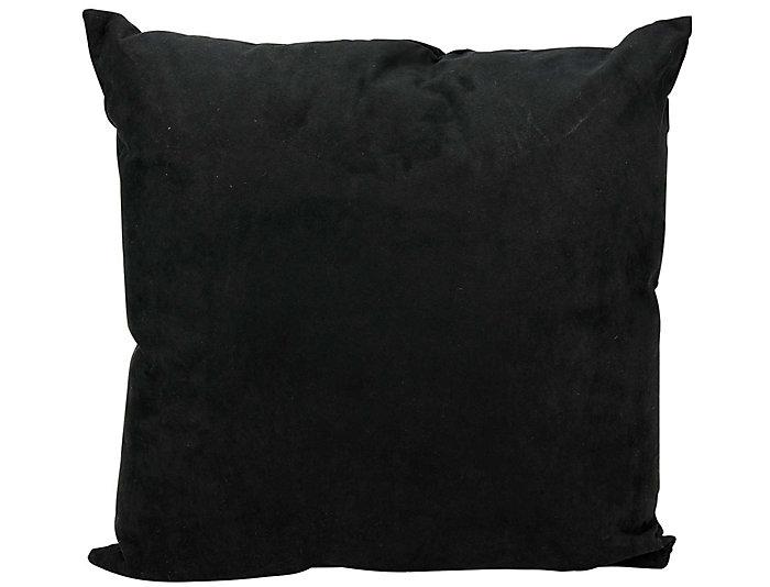Black Skull 18x18 Pillow, , large
