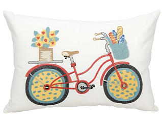 Bicycle Outdoor Pillow, , large