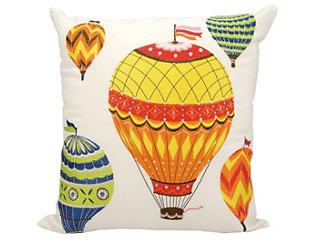 Hot Air Balloon Outdoor Pillow, , large