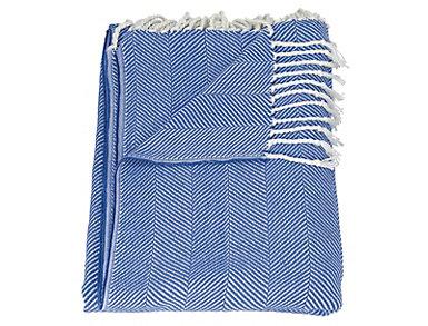 Oakland Blue Throw Blanket, , large