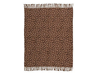 Leopard Throw Blanket, , large