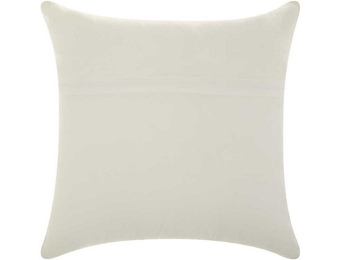 Greek Key Green Outdoor Pillow, , large