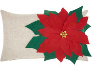 shop Poinsettia 20x14 Pillow