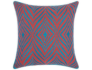 Tiverton Coral Outdoor Pillow, , large