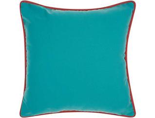 Warren Teal Outdoor Pillow, , large