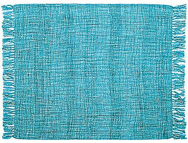 Rosemont Teal Throw Blanket, , large