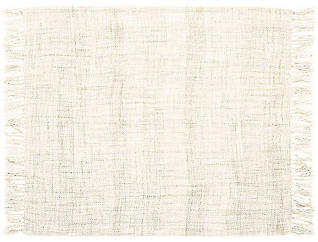 Rosemont Cream Throw Blanket, , large