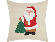 shop Felted Santa 16x16 Pillow