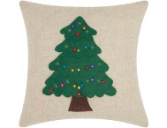 shop Felted Tree 16x16 Pillow