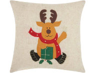 shop Felted Reindeer 16x16 Pillow