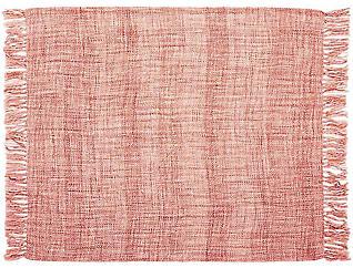 Rosemont Red Throw Blanket, , large