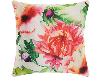 Barclay Flowers Outdoor Pillow, , large