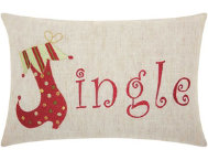 shop Jingle 18x12 Pillow