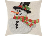 shop Snowman 18x18 Pillow