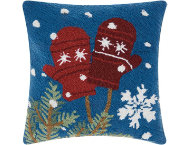 shop Mittens 18x18 Pillow