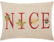 shop Nice Holiday 16x12 Pillow