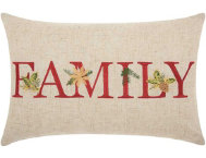 shop Family Holiday 18x12 Pillow