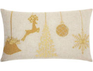 shop Golden Ornaments 24x14 Pillow