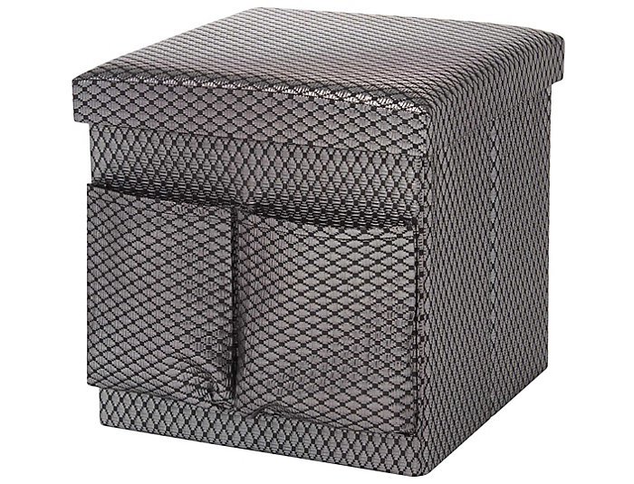 Merrill Silver Diamond Cube, , large