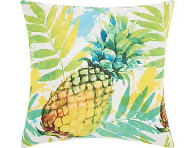 Pineapple Outdoor Pillow, , large