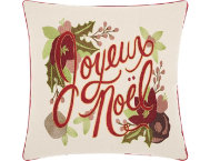 shop Joyous Noel 16x16 Pillow