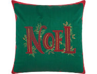 shop Beaded Noel 16x16 Pillow