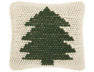 shop Green Xmas Tree 20x20 Pillow